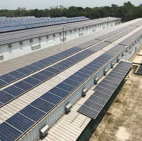 PPL 723.06KWp  Grid-Tied Solar Power Plant